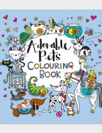 Image of Square Colouring Book - Adorable Pets